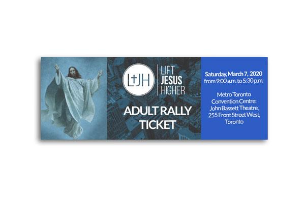 LJHR Adult-Ticket