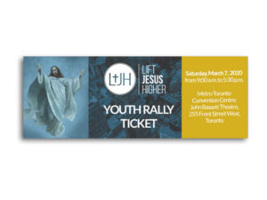 Youth Rally Ticket – 2020 Lift Jesus Higher Rally